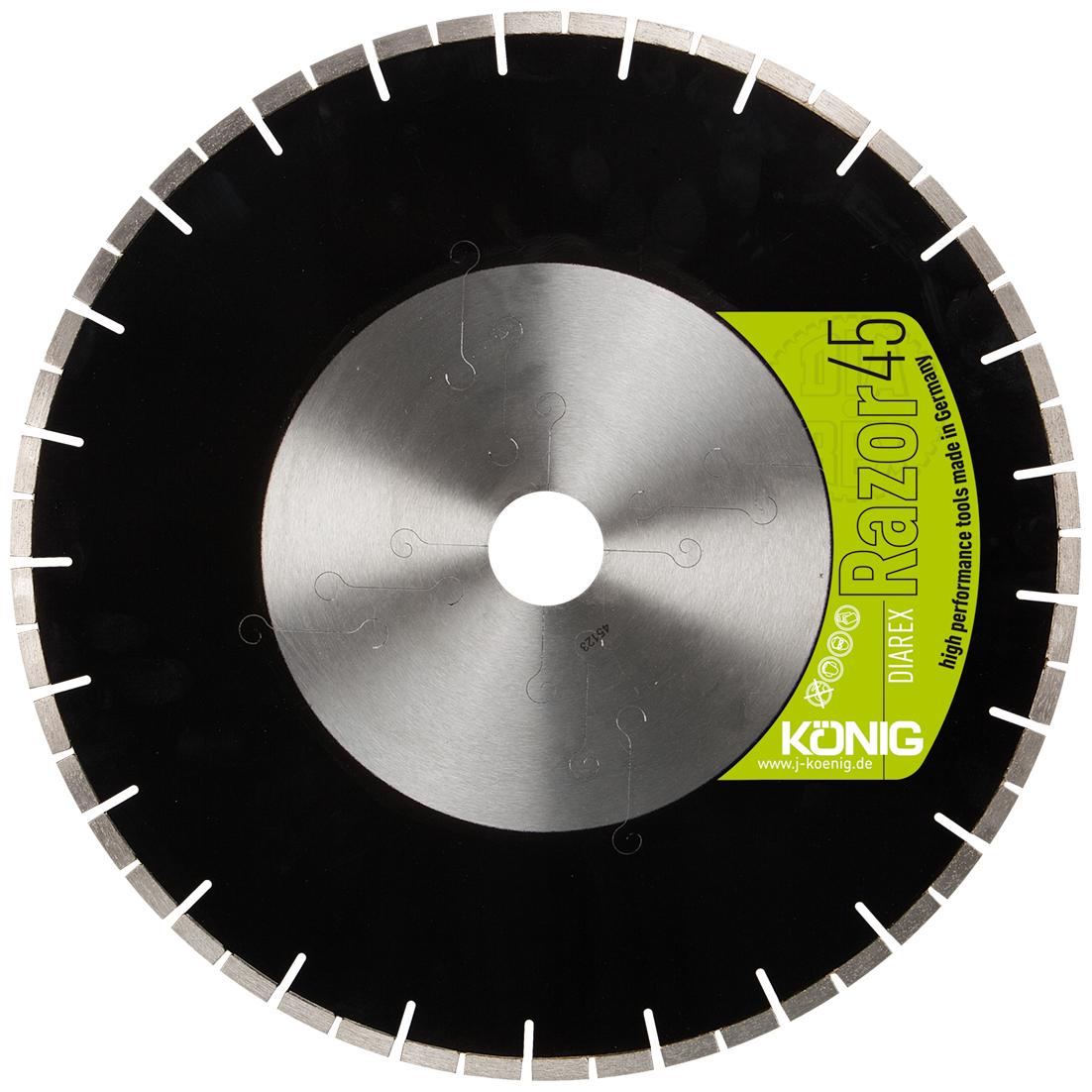 DIAREX Trennscheibe Razor 45 ø 350 mm │ Bohrung 60 mm