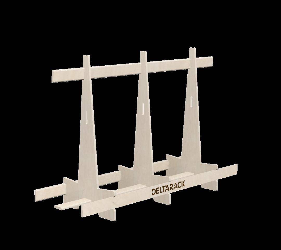 Deltarack Transportgestell Holz SG one way 1800x600x1220 |750kg |Set a 6 Stück