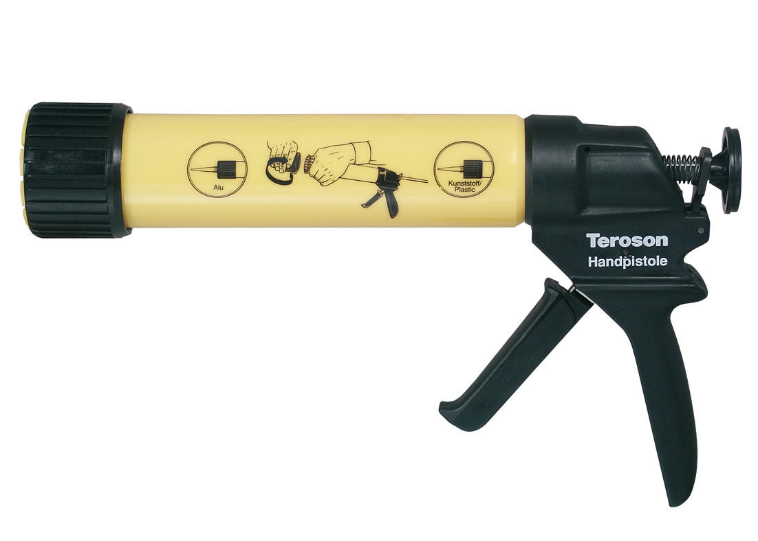 Handpresspistole mit Schnellverschluss