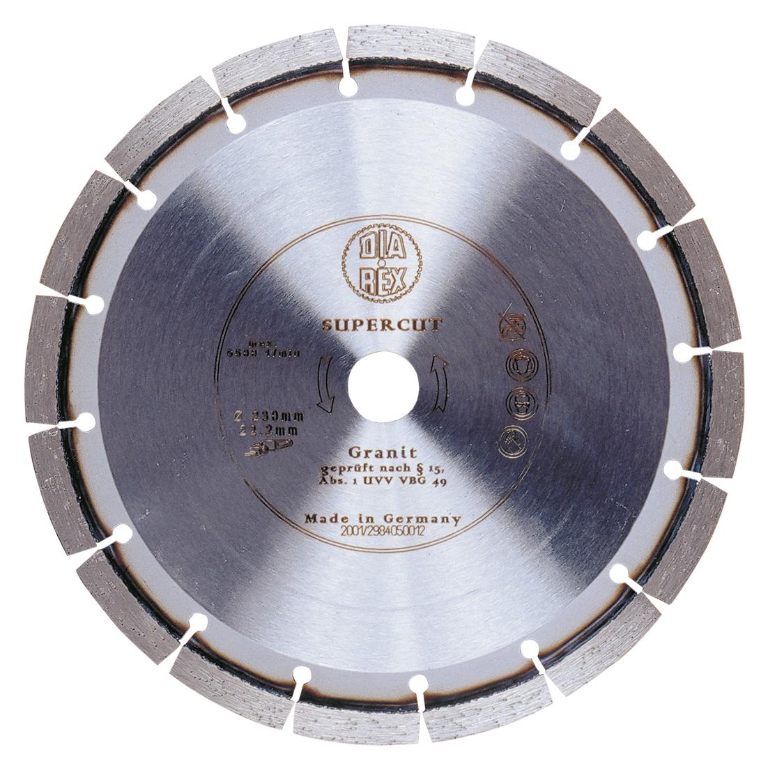 DIAREX Trennscheibe Supercut ø 125 mm