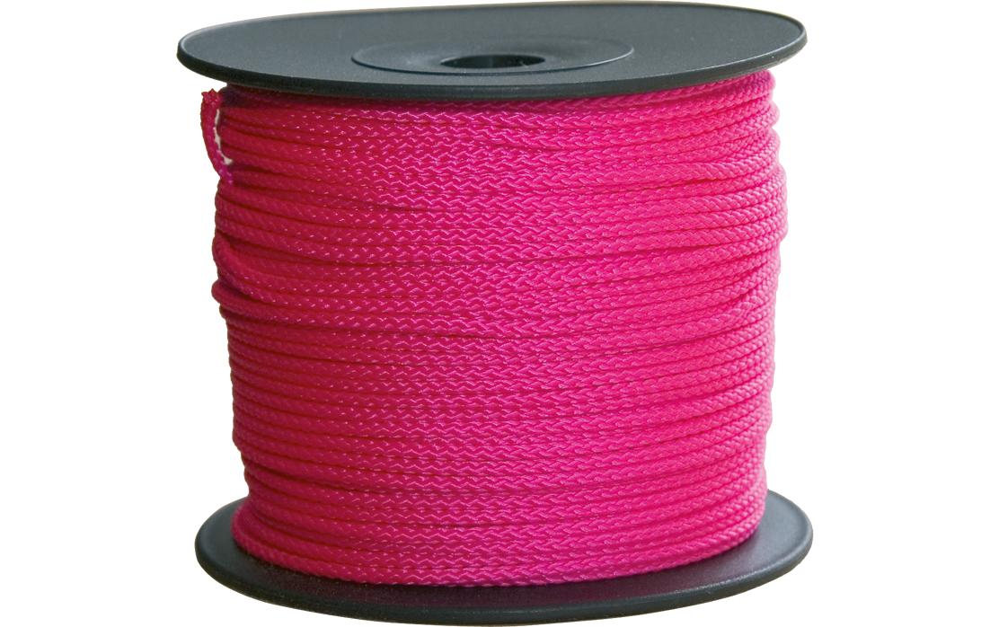Maurerschnur pink 2,0 mm   100m