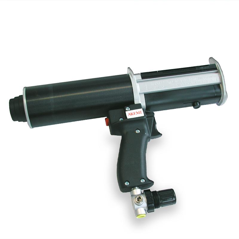 Akepox Presspistole Druckluft 395 + 400 ml