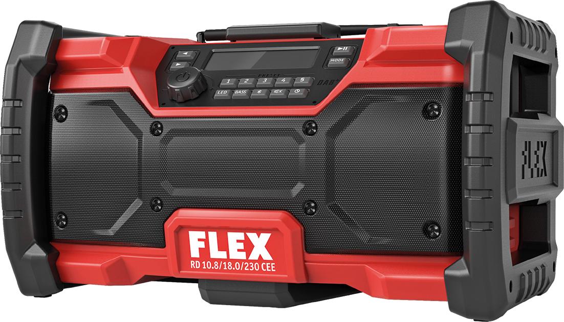 FLEX Akku-Baustellenradio