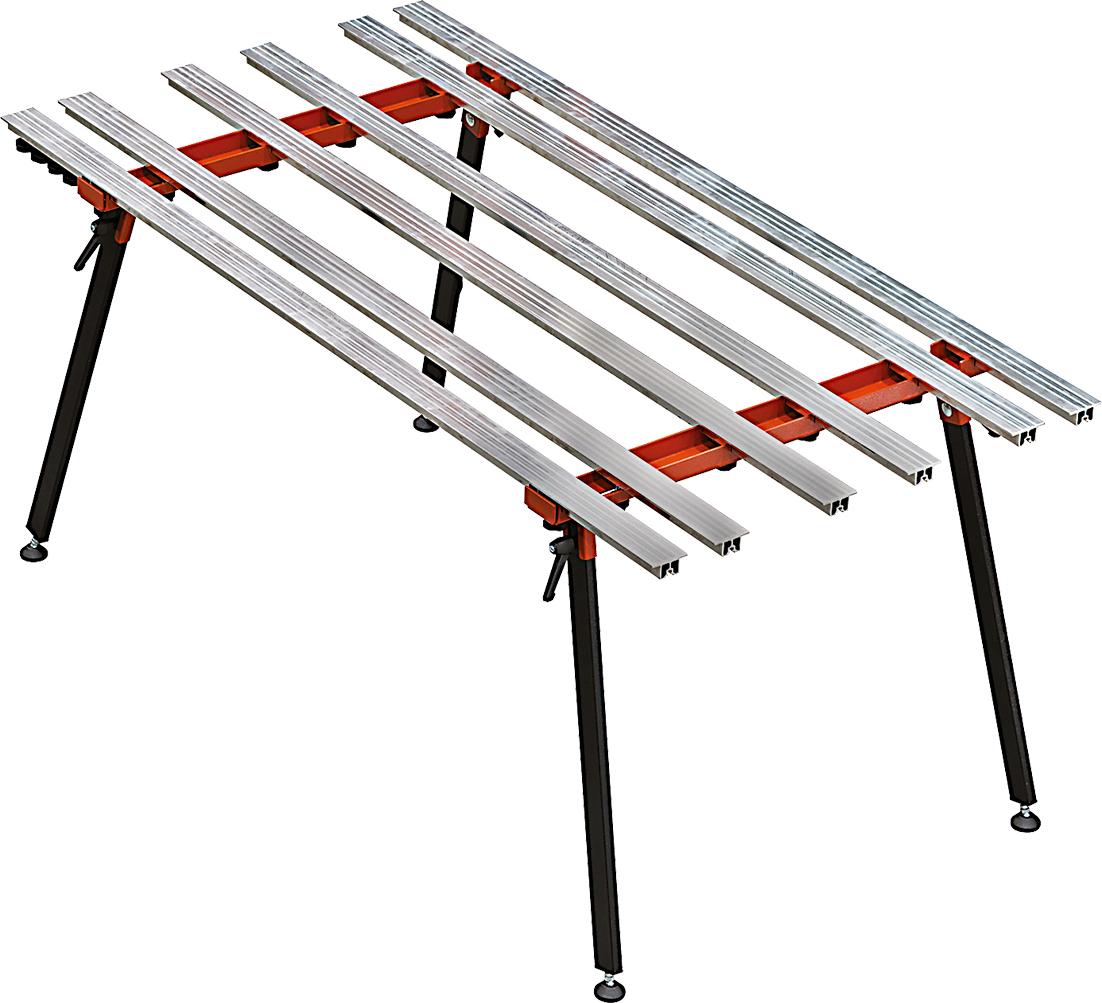 Arbeitstisch BM 180 für großformatige Platten | 180 x 90 cm zerlegbar
