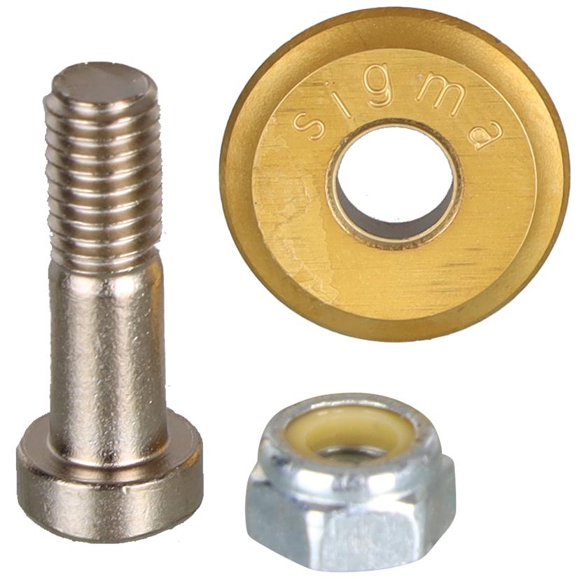 Hartmetall-Schneidrädchen Sigma Klick-Klock ø 16 mm | Titan