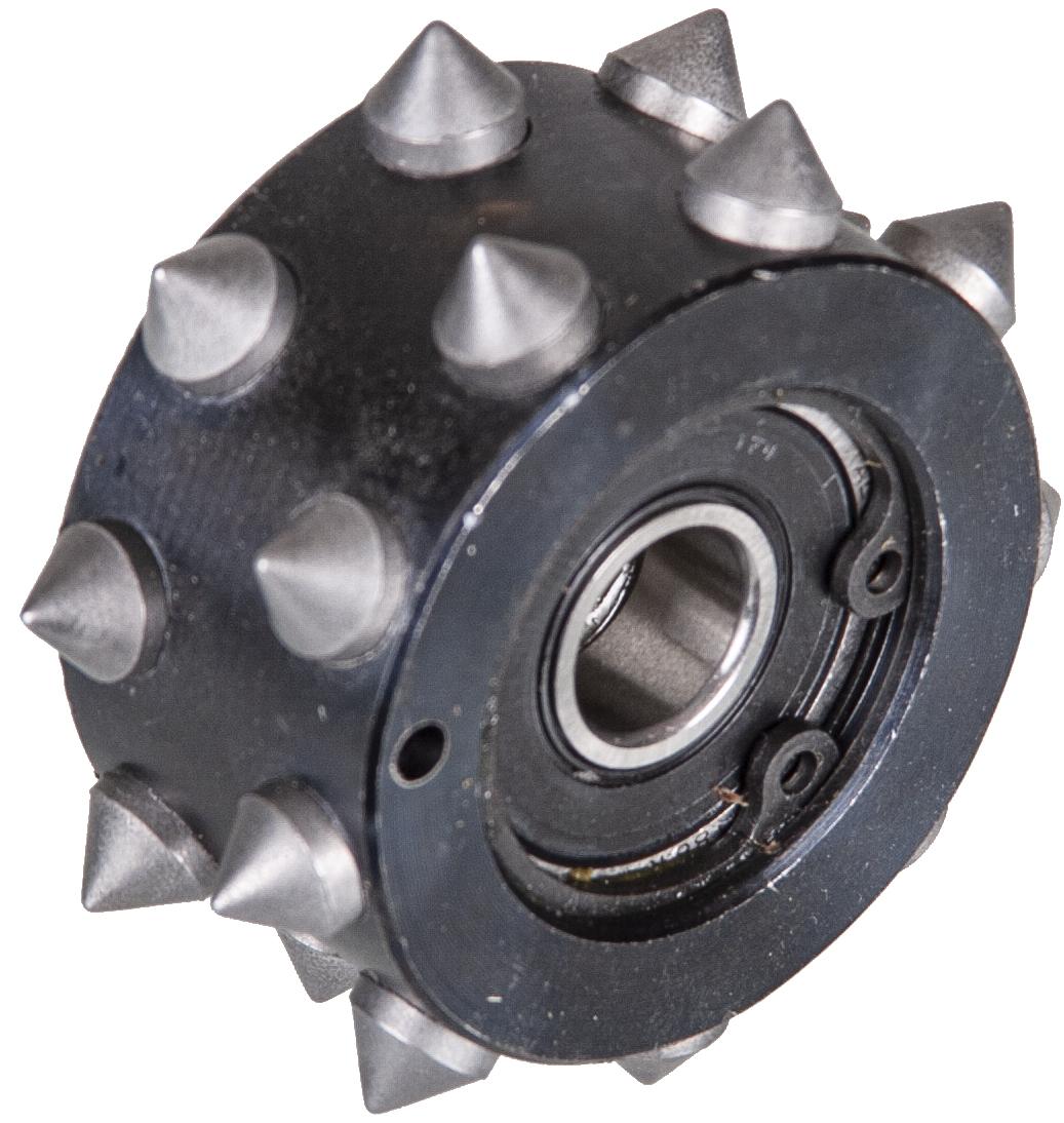 Ersatzrolle für Stockeinrichtung ø 150 mm | Grob