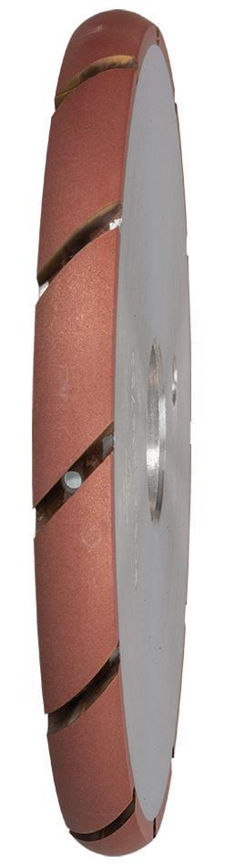 Wasserrillenfräser ø 140 mm | R8 | Korn 2 | Winkelgetriebe