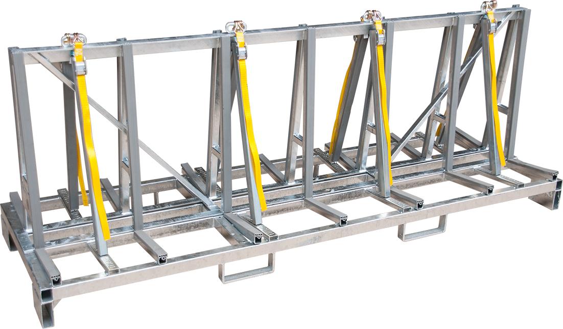 Küchenplatten-Transportgestell verzinkt 2,35m