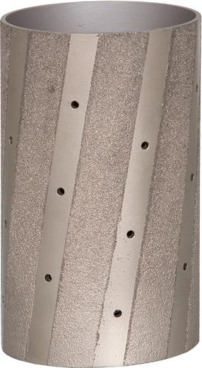 DIAREX Schleifwalze ø 110 mm | Höhe 190 mm | Korn 0 | vakuumgelötet