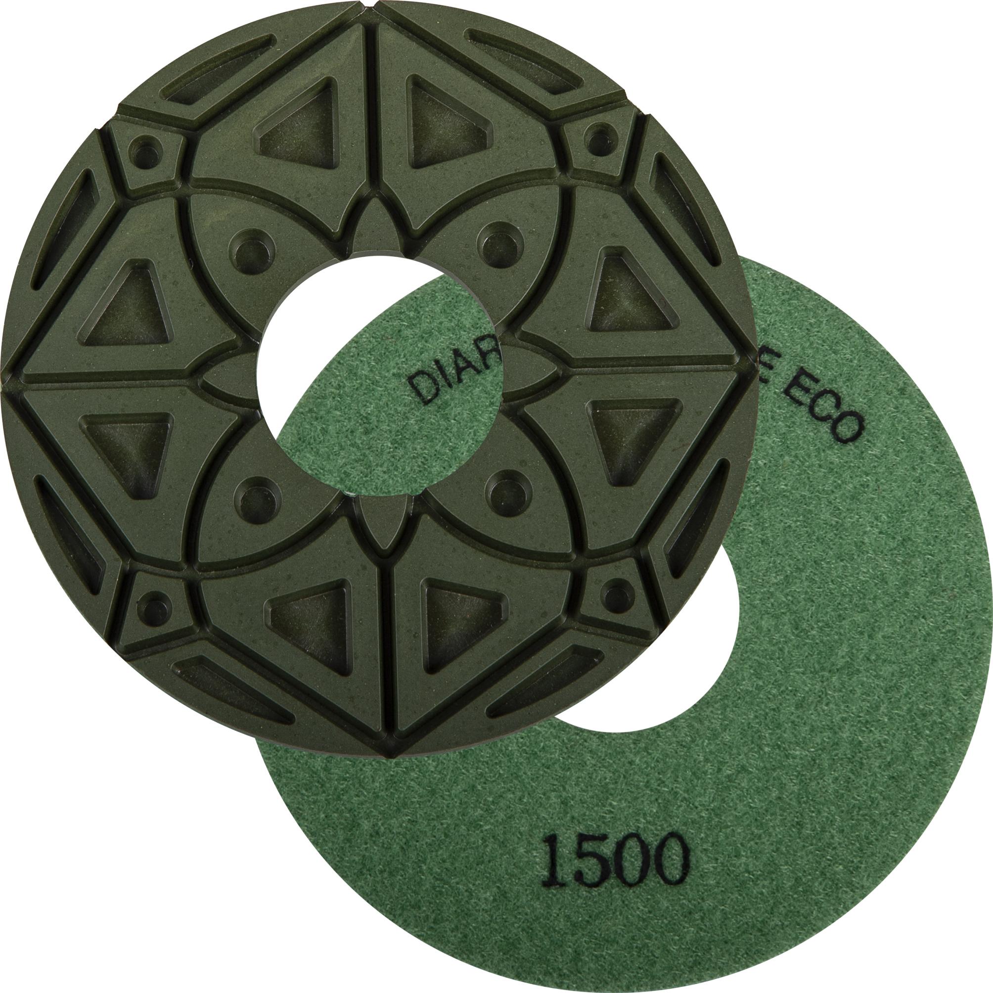 DIAREX Kantenschleifbelag KS-Edge ECO ø 130 mm | Korn 1500 | Klett