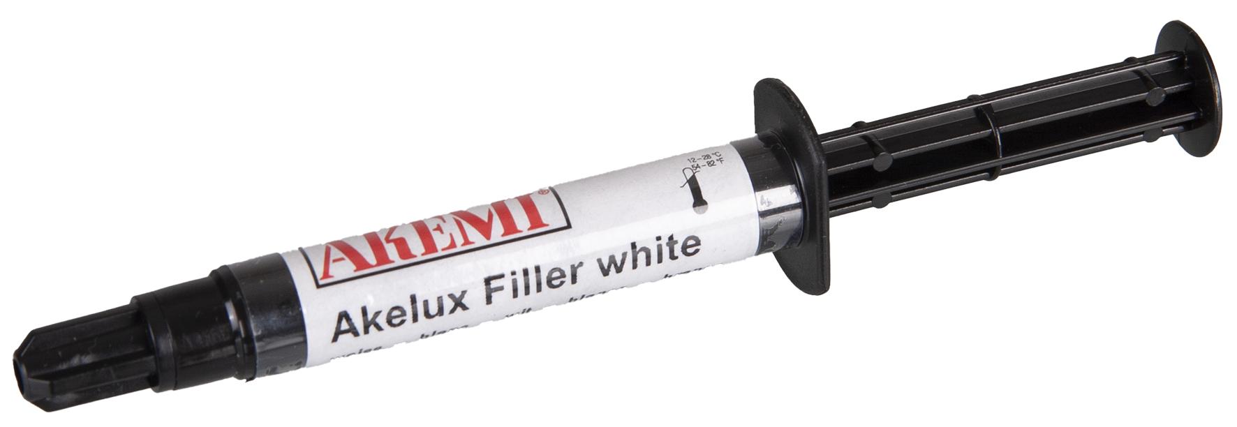 Akemi Akelux Filler gelartig weiß 2 ml