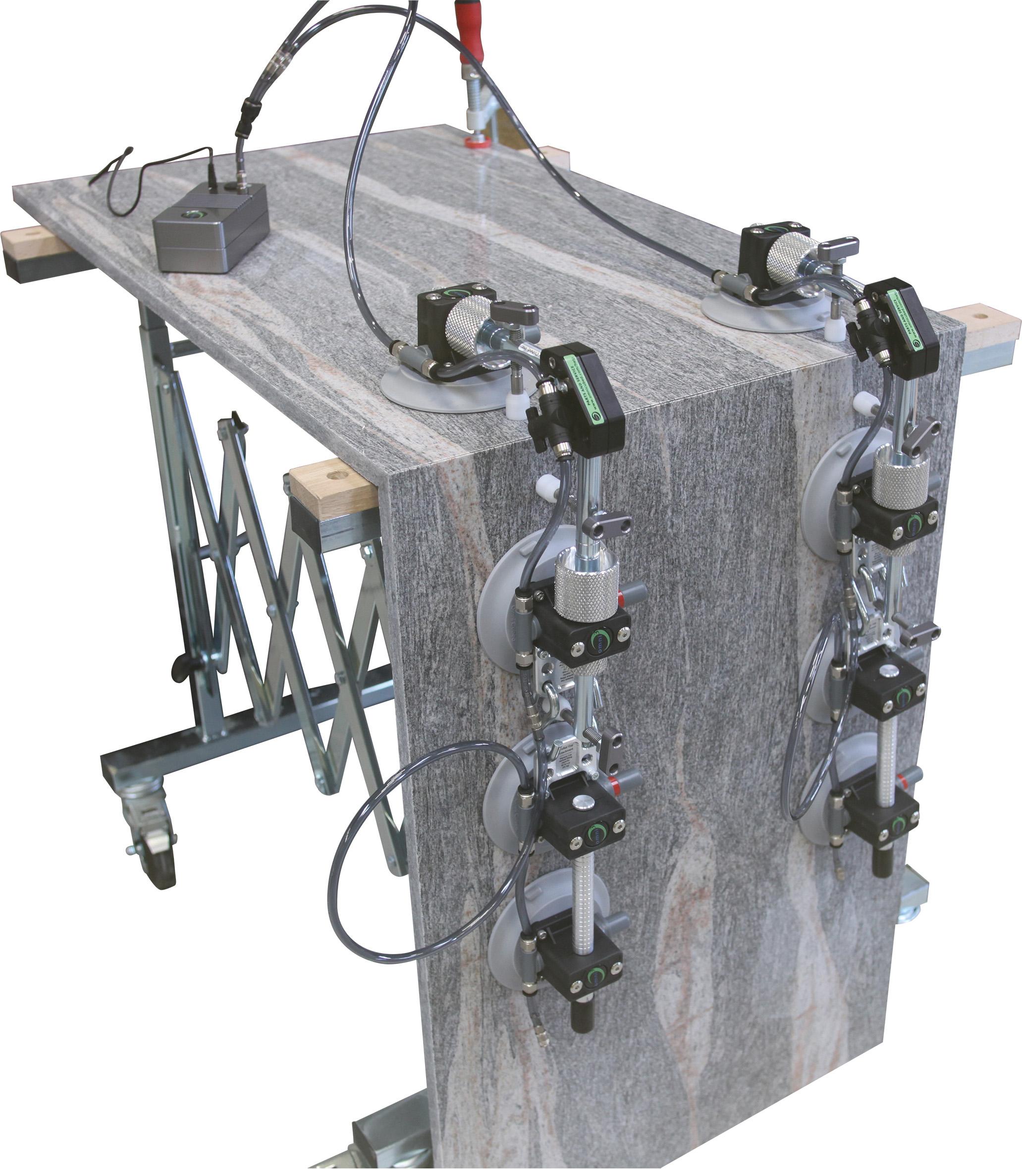 Omni Cubed 90° Stealth Seamer Auto | 8 Saugplatten ø130mm | Pumpe 230 volt
