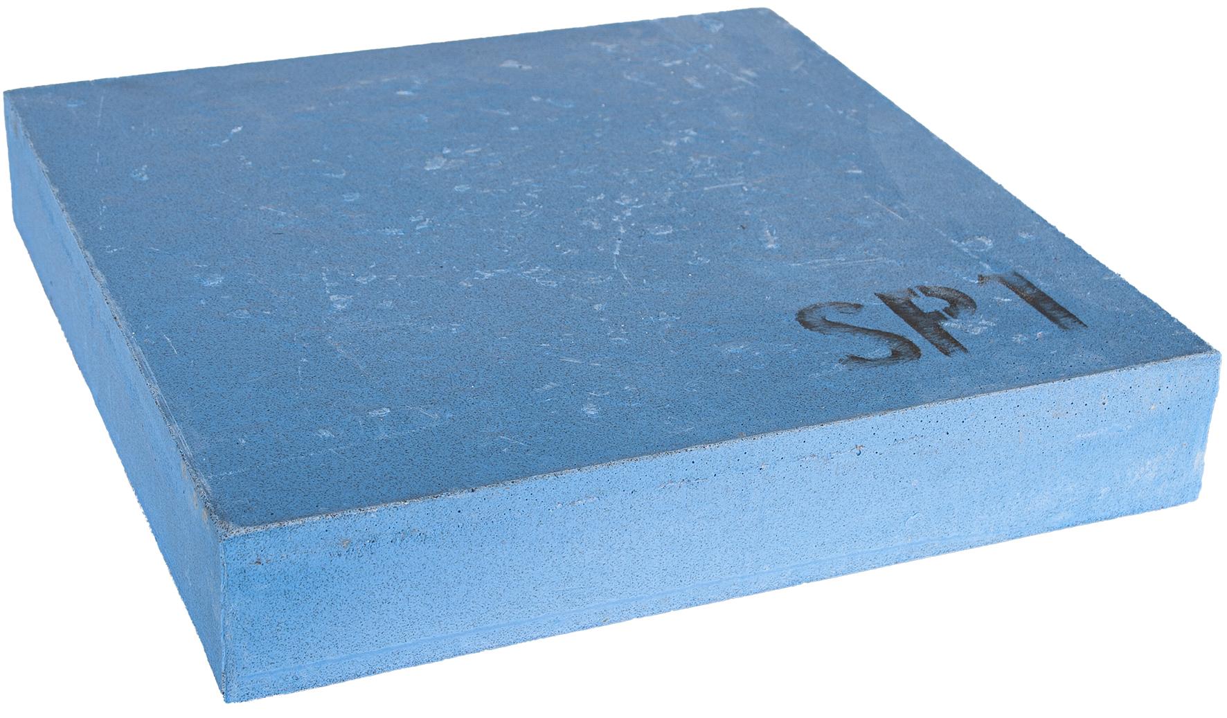 Schärfstein blau | 320x55x320mm