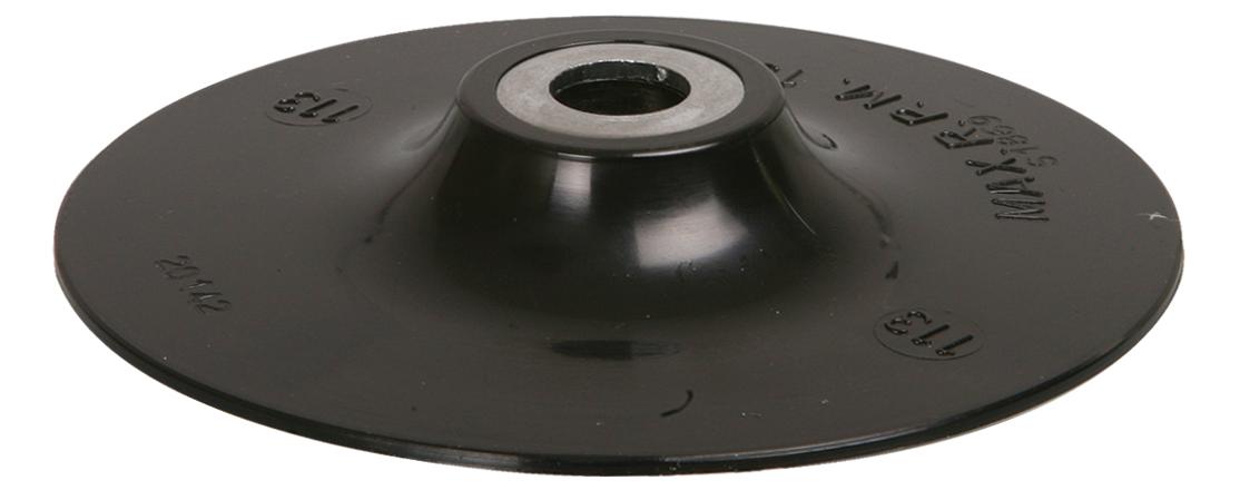 Aufnahmeteller GST M14   ø 110 mm   für Fiberscheiben
