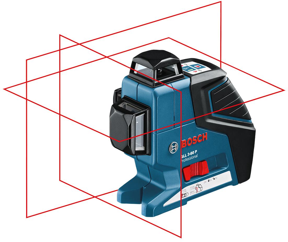 BOSCH Multi-Linienlaser GLL 3-80