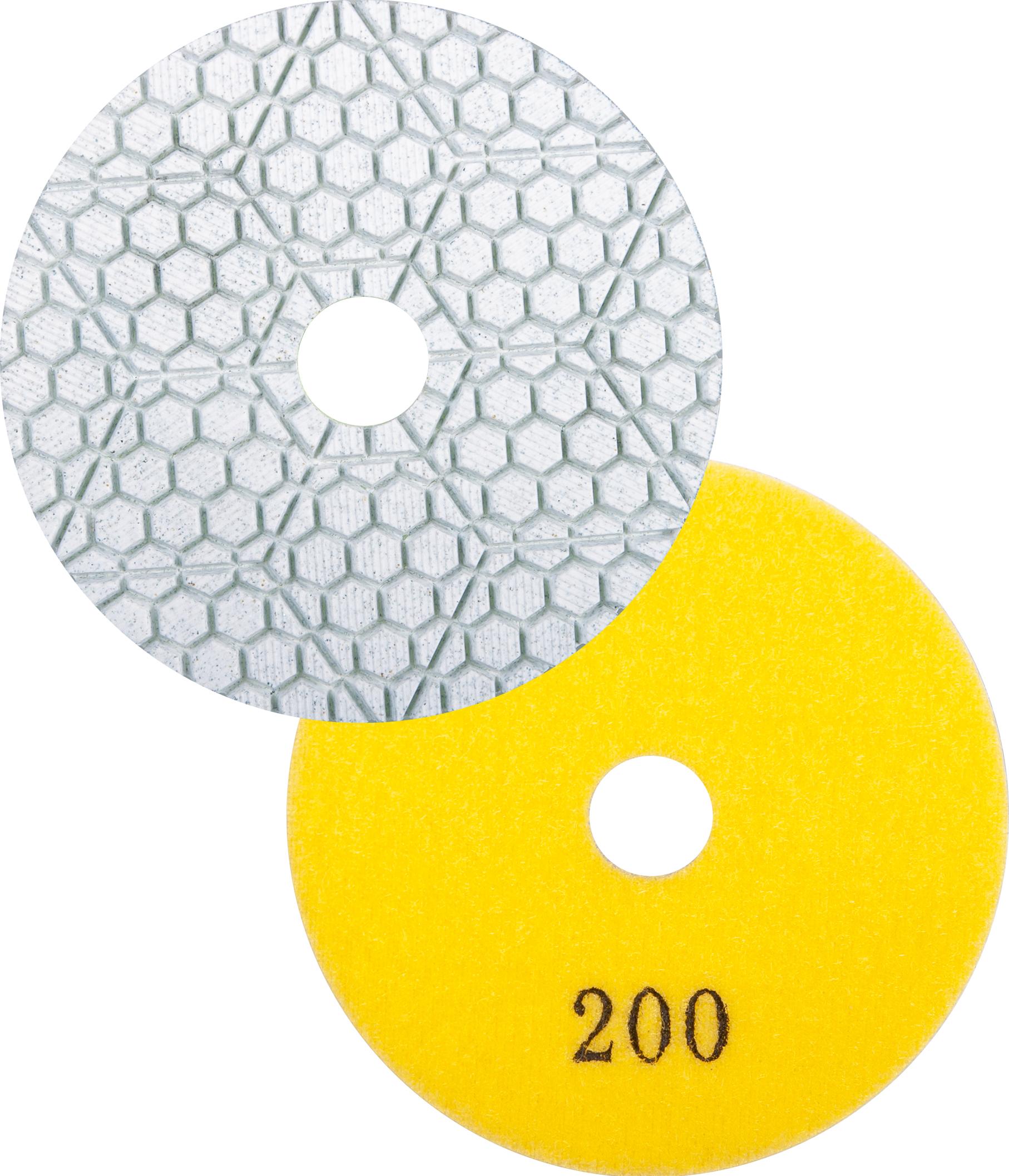 DIAREX Schleifbelag ADR 7-Step ø 100 mm   Korn 200