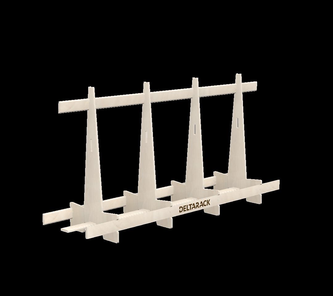 Deltarack Transportgestell Holz SG one way 2400x600x1220 |1000kg |Set a 6 Stück
