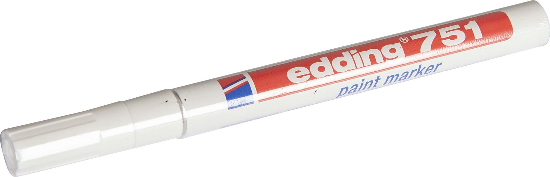 Edding Filz-Lackstift 751 | Weiß
