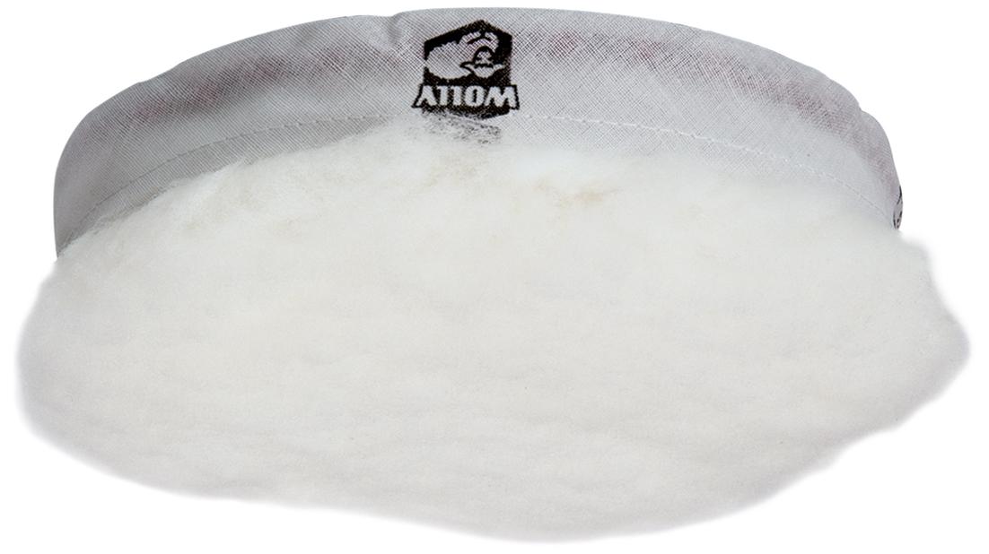 Lammfellpolierhaube ø 115 mm │ Klett