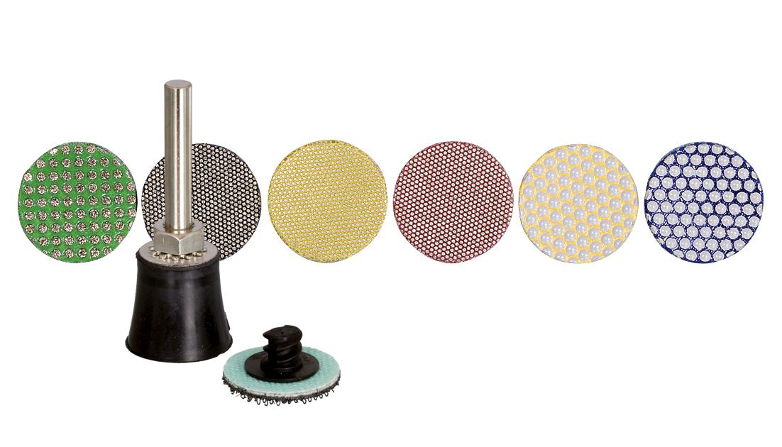 Schleifbelag Mini ø25 mm | Set
