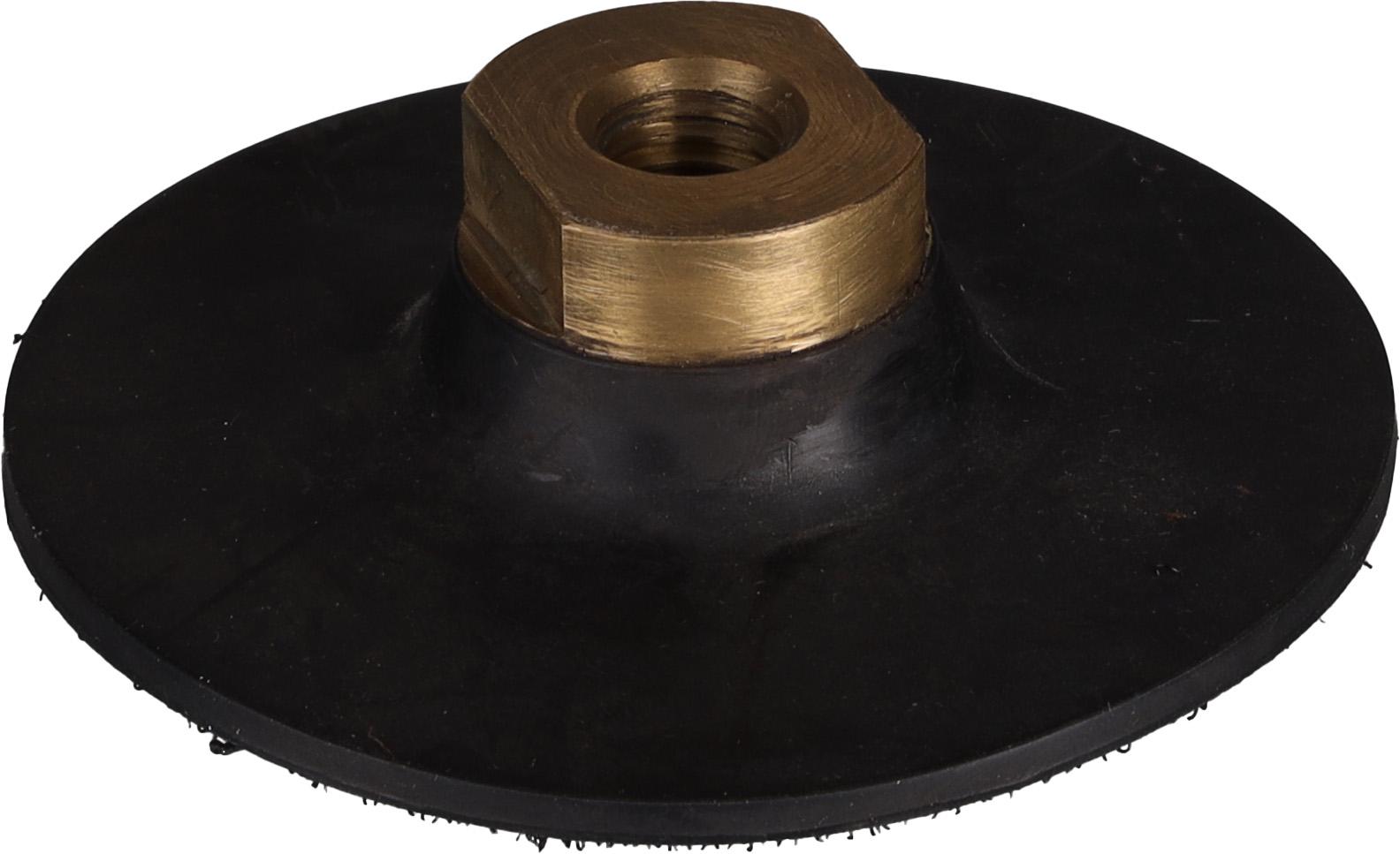 Aufnahmeteller M14   Gummi   ø 93 mm   Klett   superflex