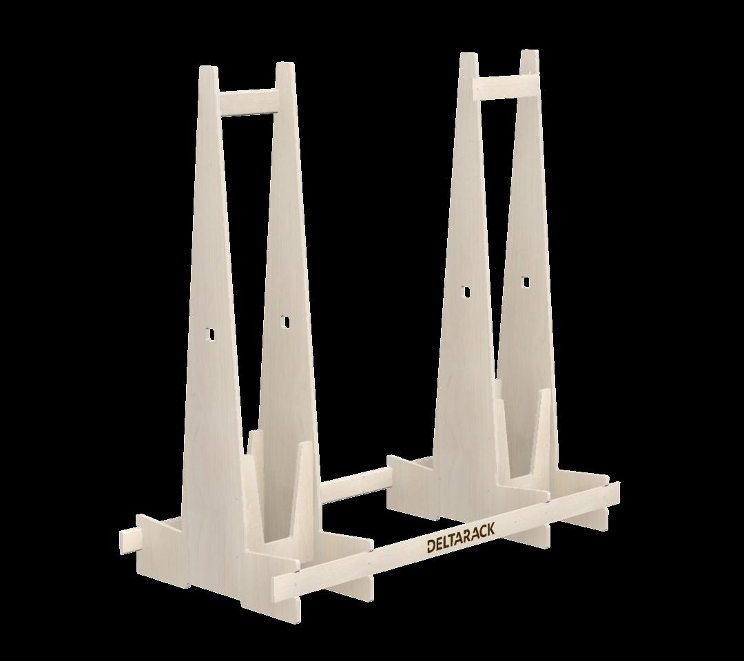 Deltarack NB6 Transportgestell Holz Schwerlast 2000x920x1800 mm | 1000 bis 6000kg