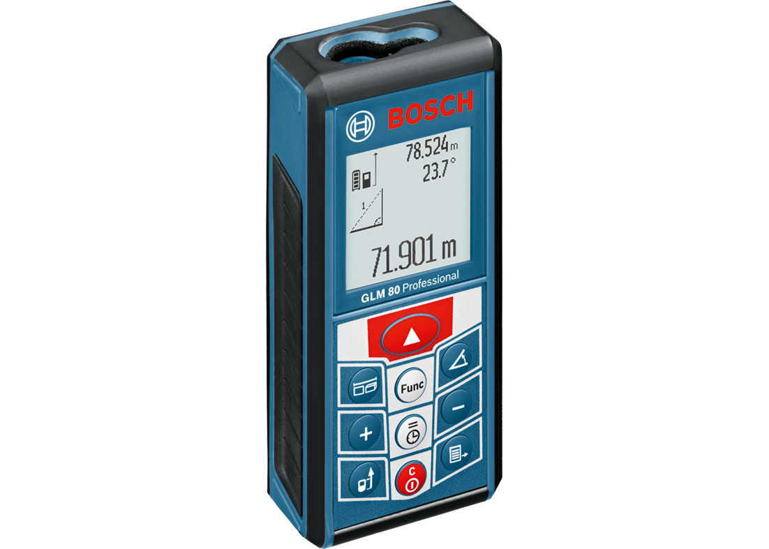 BOSCH Entfernungsmesser GLM 80 Professional