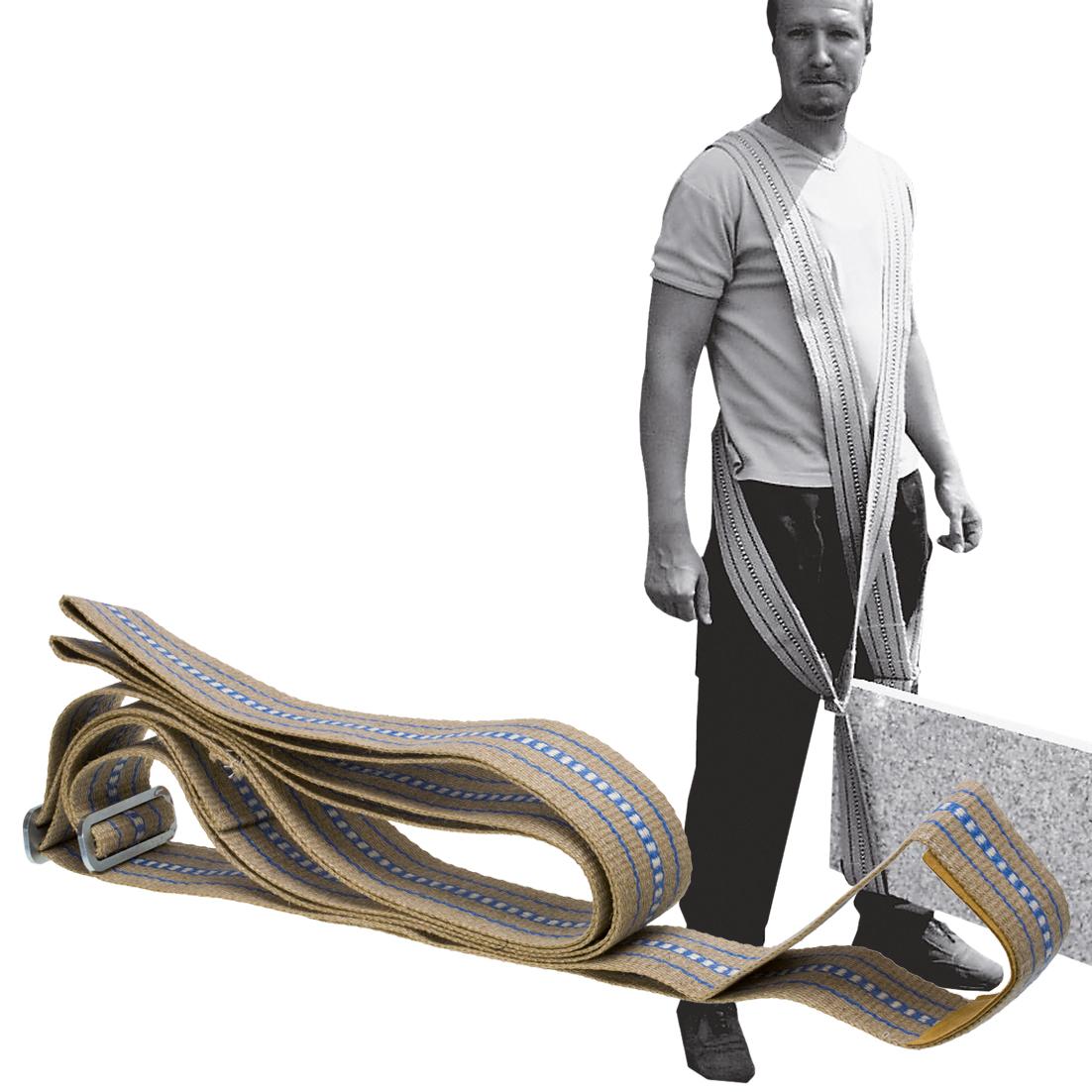 Kreuztragegurt 80mm breit