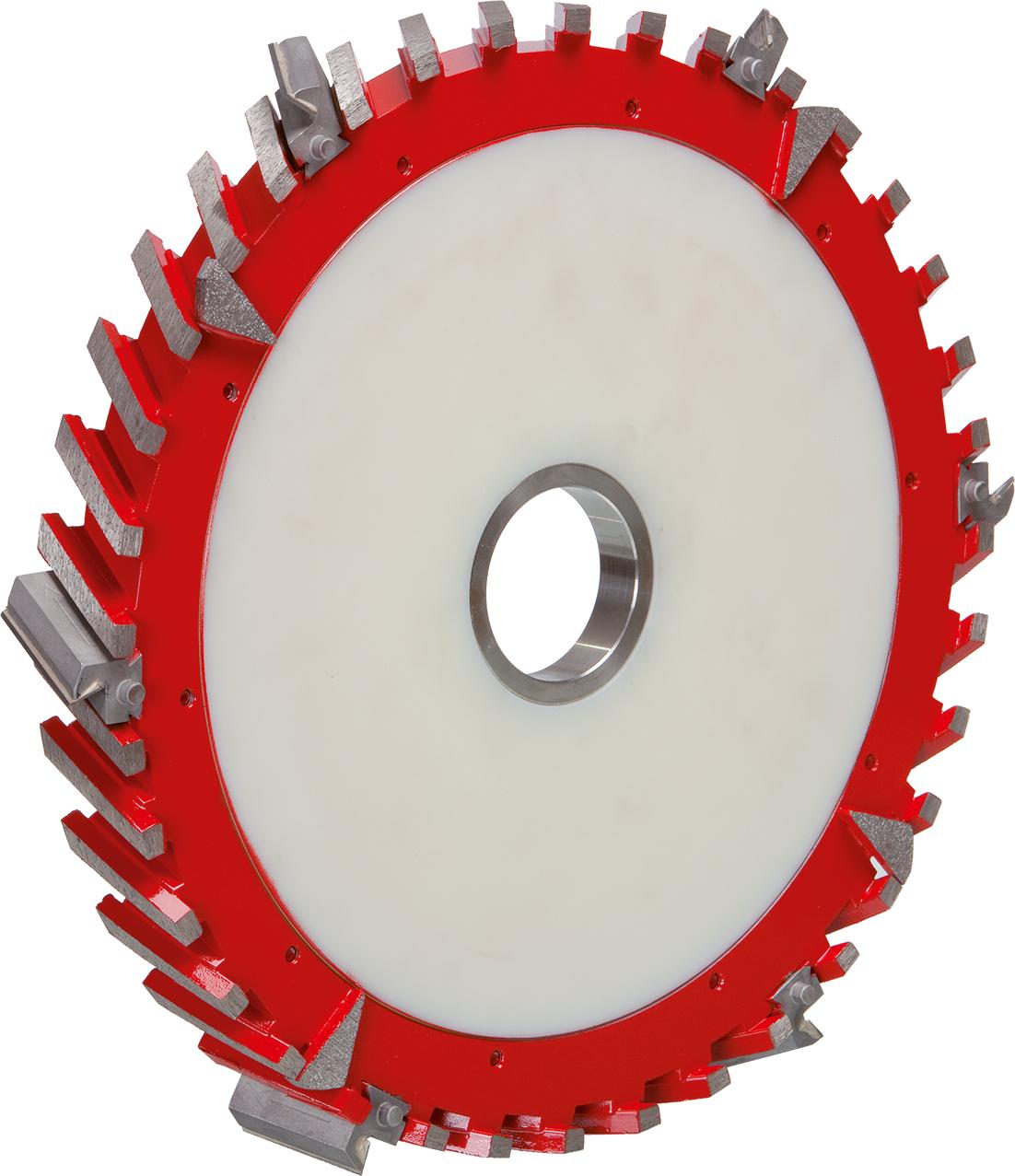 DIAREX Umfangsfräser ø 350 mm | Fräsbreite 40 mm