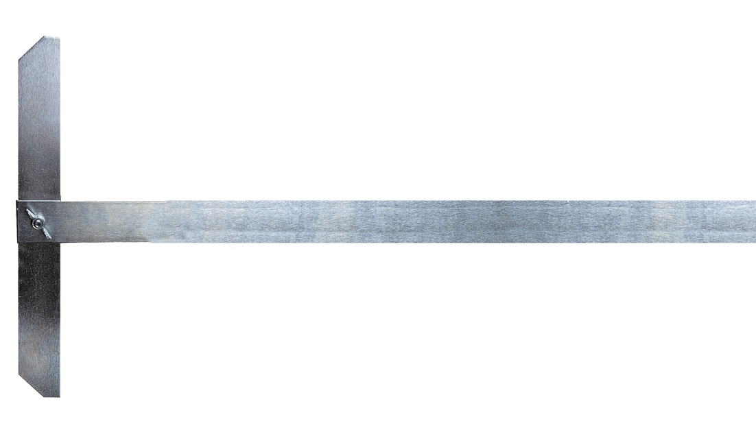 Reißschiene 100cm | Stahl