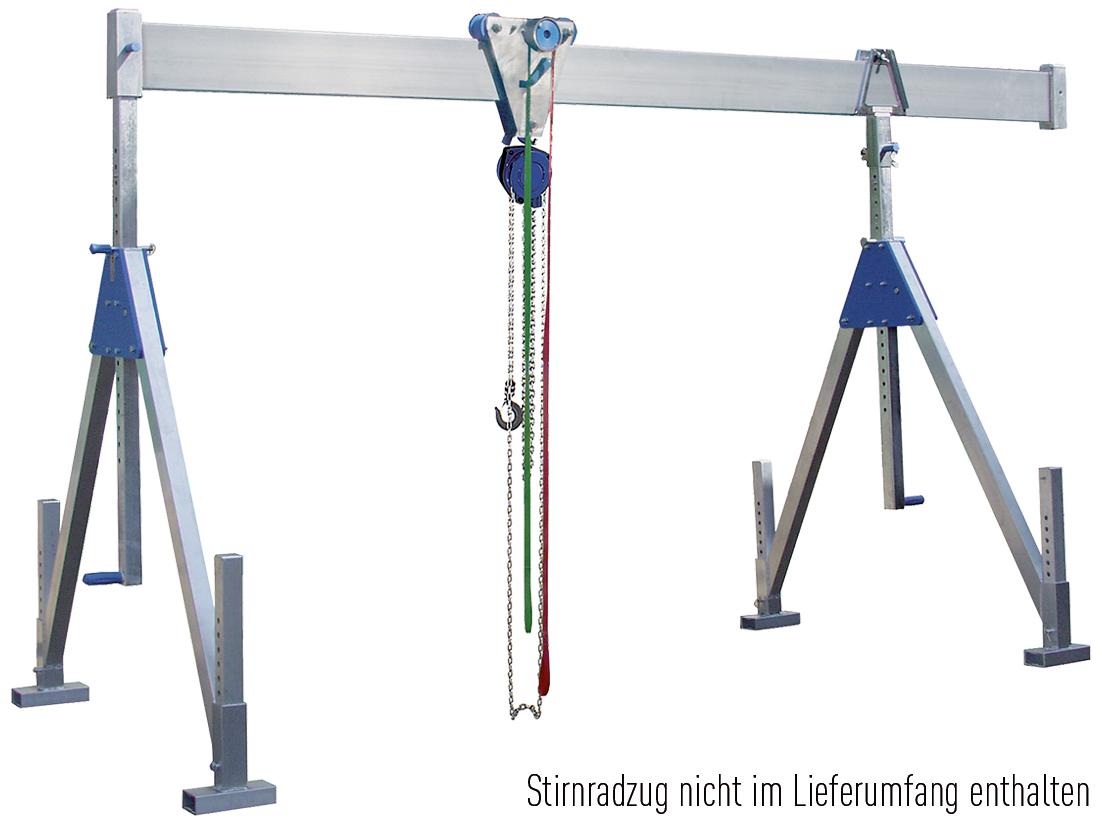 Schnellbau Portalkran 1,0 t | Trägerlänge 2 m