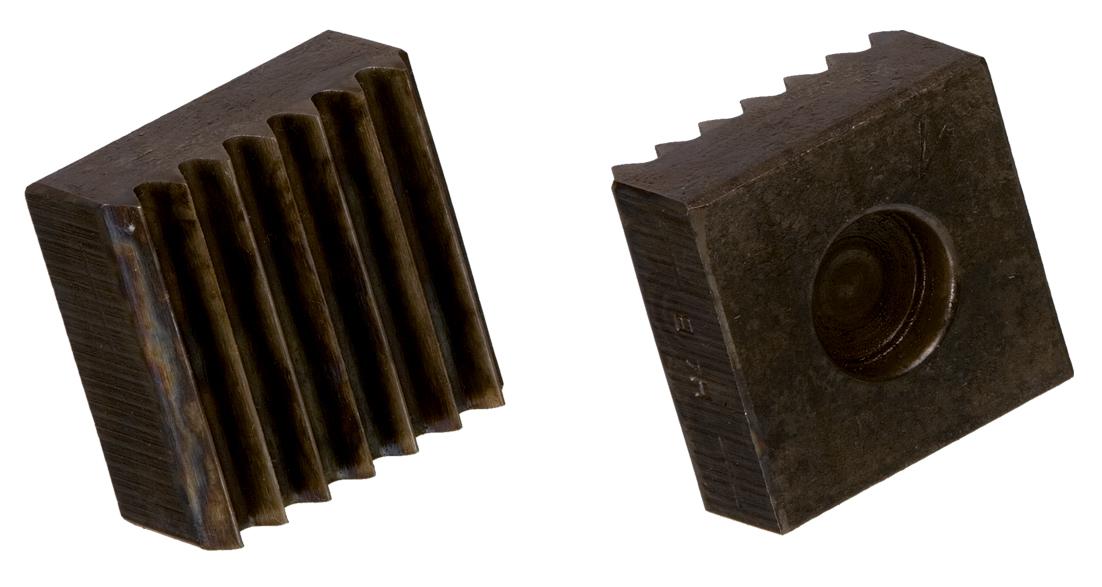 Riffeleinsatz Hartgestein 35 x 35 mm   5 Rillen