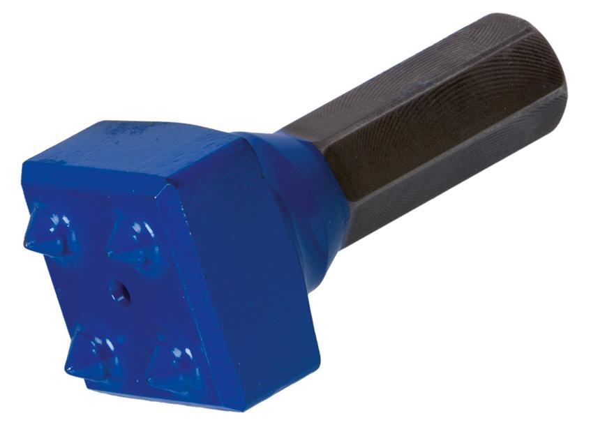 REISSER DL-Stocker 40 x 40 mm | 4 Zähne