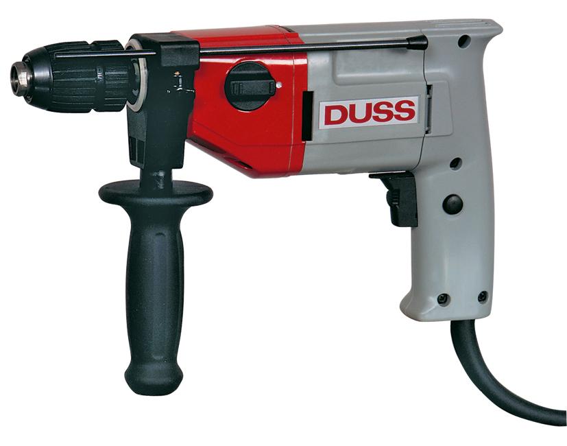DUSS Schlagbohrmaschine SB 13/2RLE | Schnellspannbohrfutter