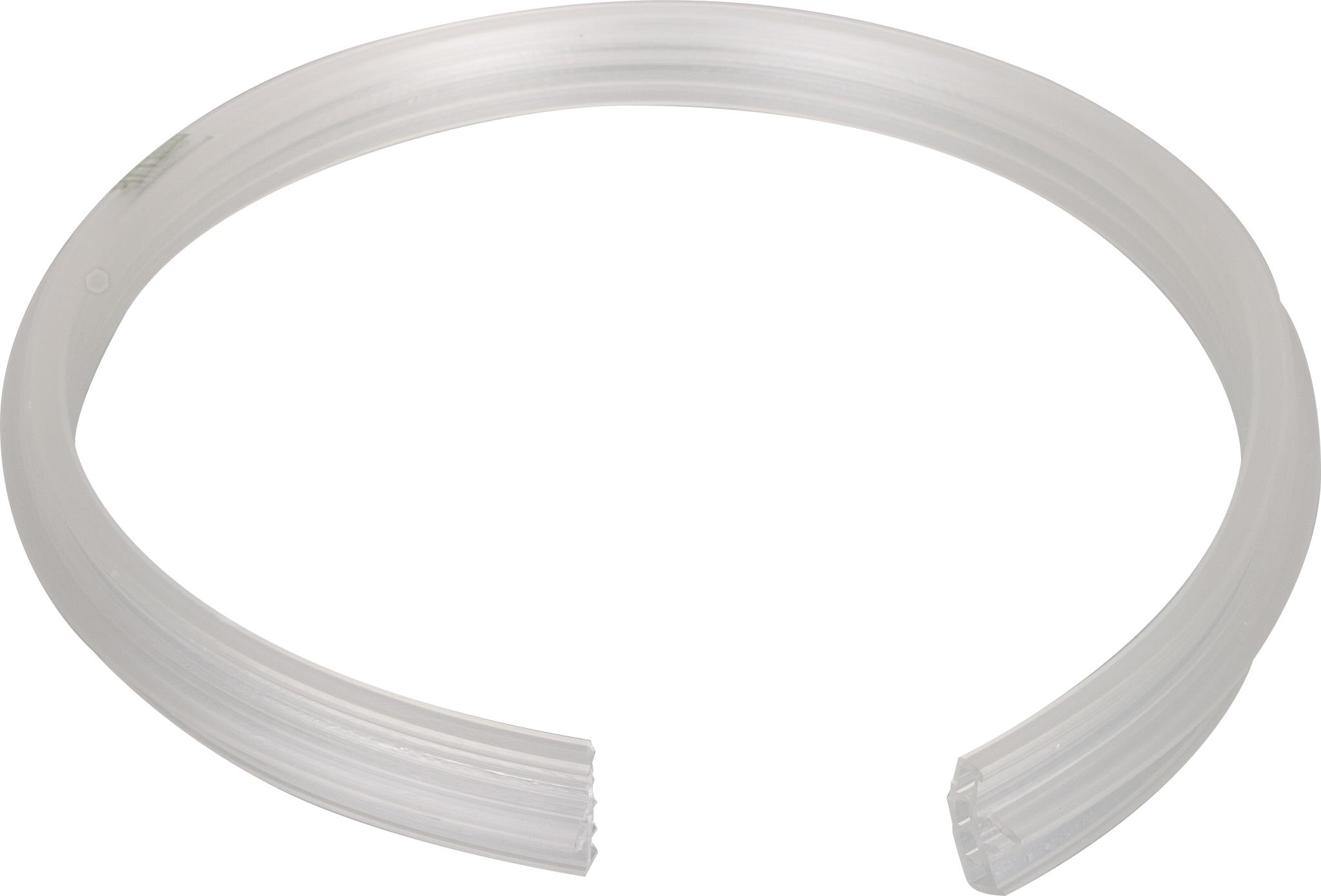 Profilgummi für Stahlrohrsackkarre verzinkt