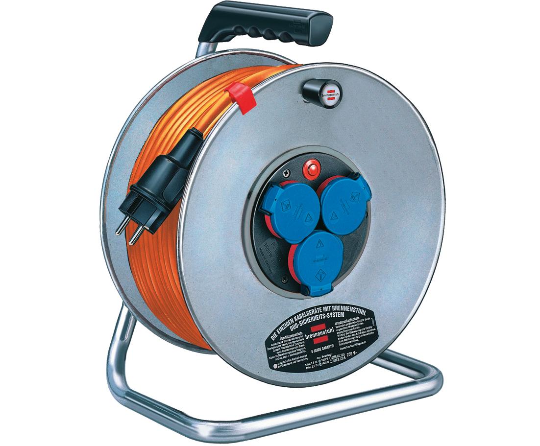 Kabeltrommel Profi 25 m | Breflex Solid Kabel