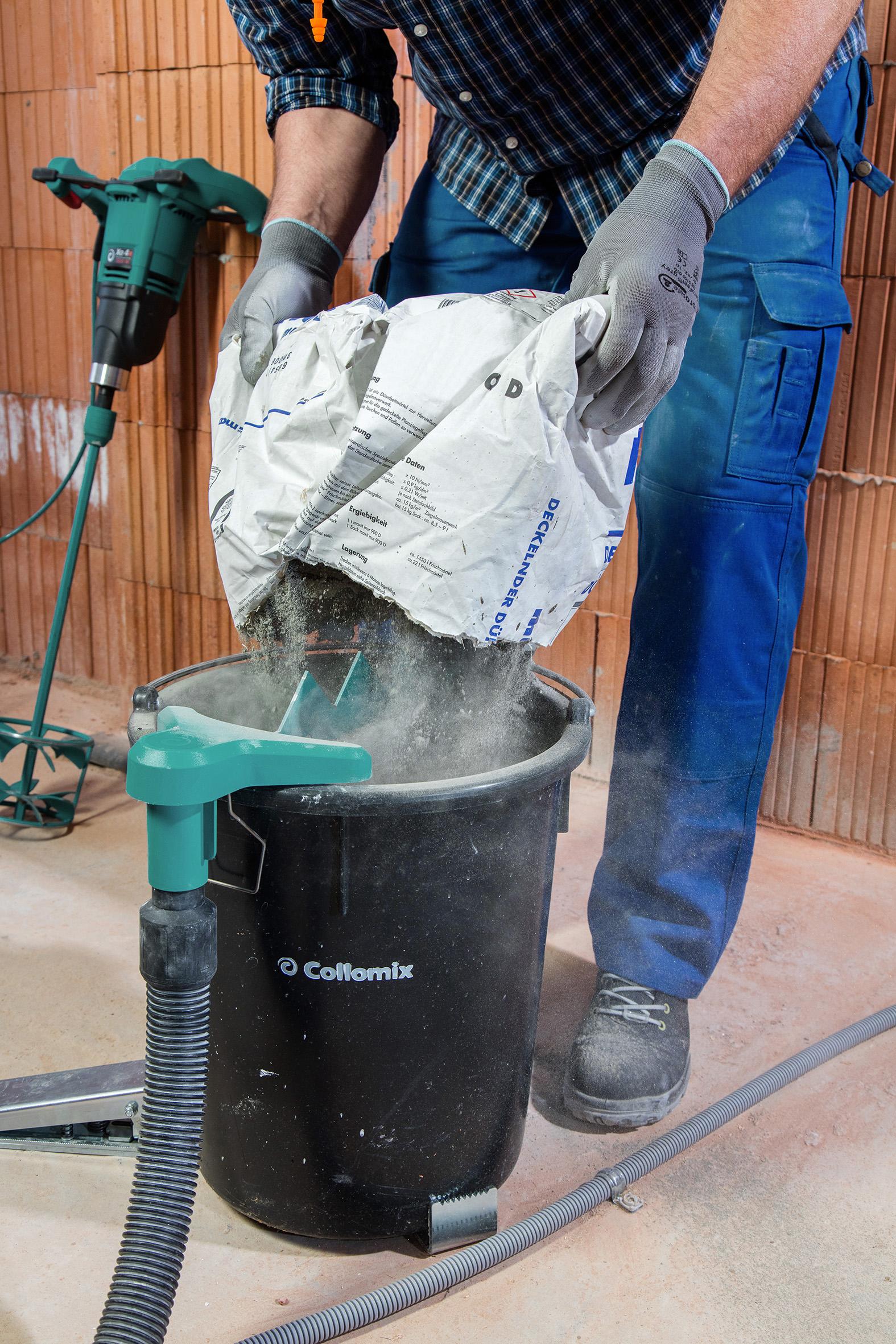Collomix Staubabsaugung Dust EX