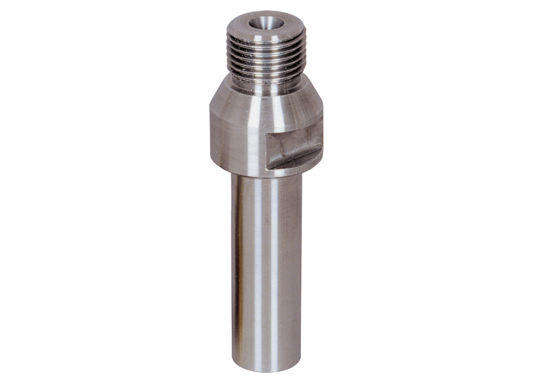"""Aufnahmedorn R1/2"""" für Absenkfräser M12   Arbeitslänge 35 mm"""