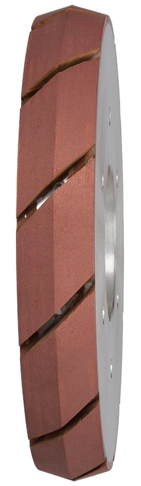 Wasserrillenfräser ø 150 mm | V-Nut | Korn 2 | Winkelgetriebe