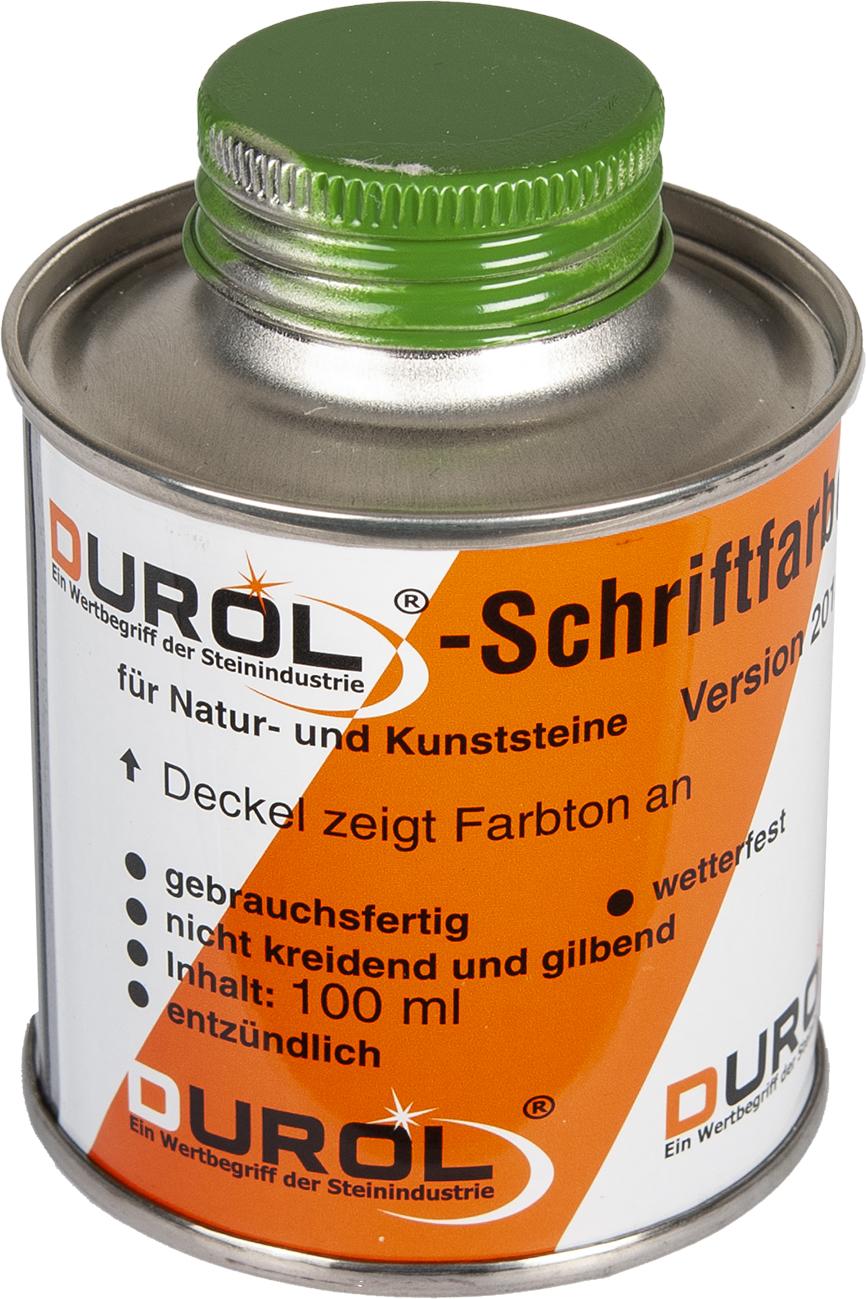 Durol Schriftfarbe 100 ml   Grün