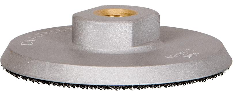 Aufnahmeteller M14   Aluminium   ø 95 mm   Klett