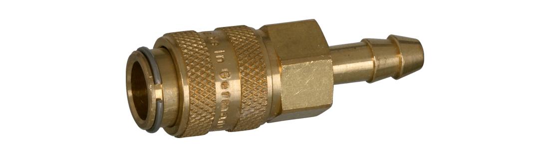 Druckluft Schnellkupplung Mini | 4mm