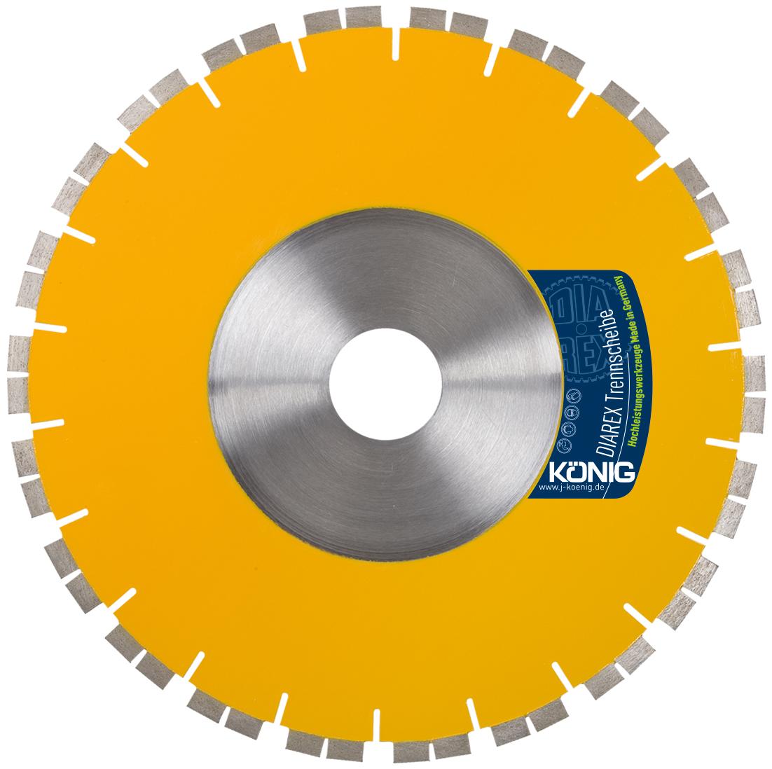 DIAREX Trennscheibe TGAS ø 300 mm | Bohrung 60 mm