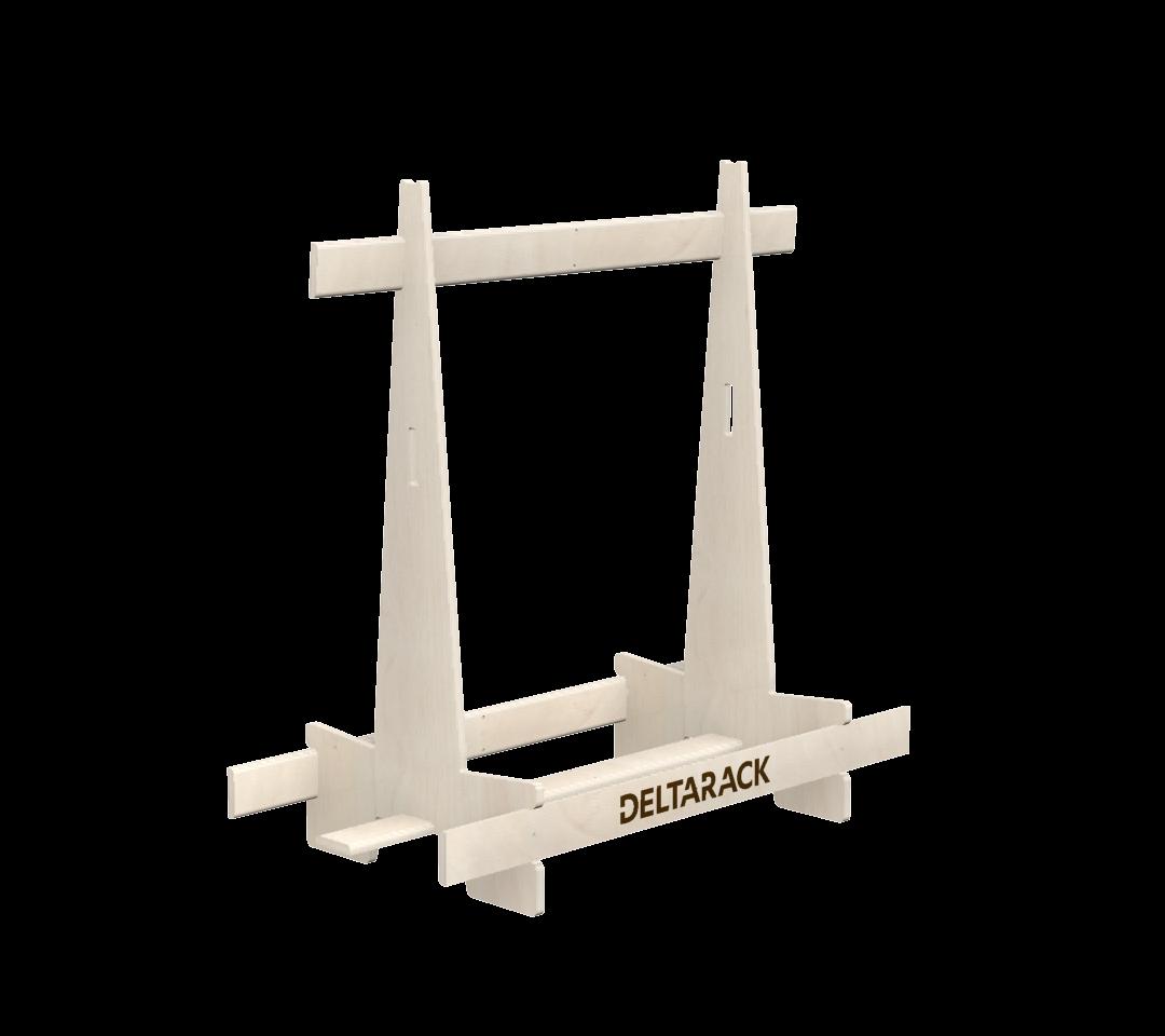 Deltarack Transportgestell Holz SG one way 1200x600x1220 |500kg |Set a 6 Stück