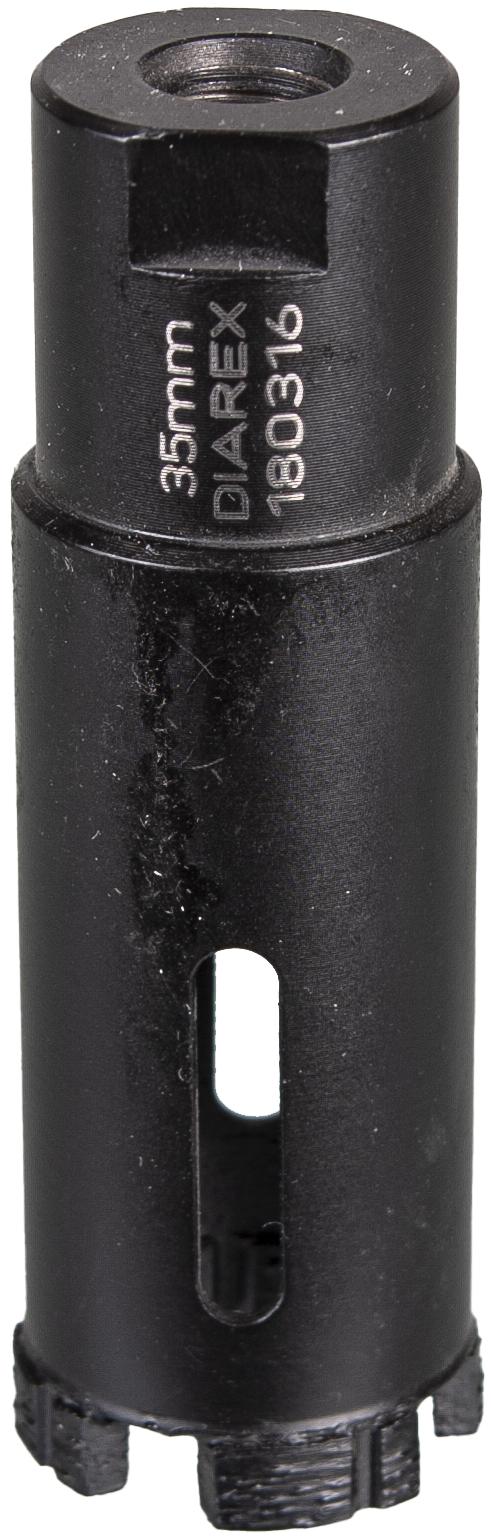 DIAREX Bohrkrone Extrem ø 35 mm   Bohrtiefe 50 mm   M14i