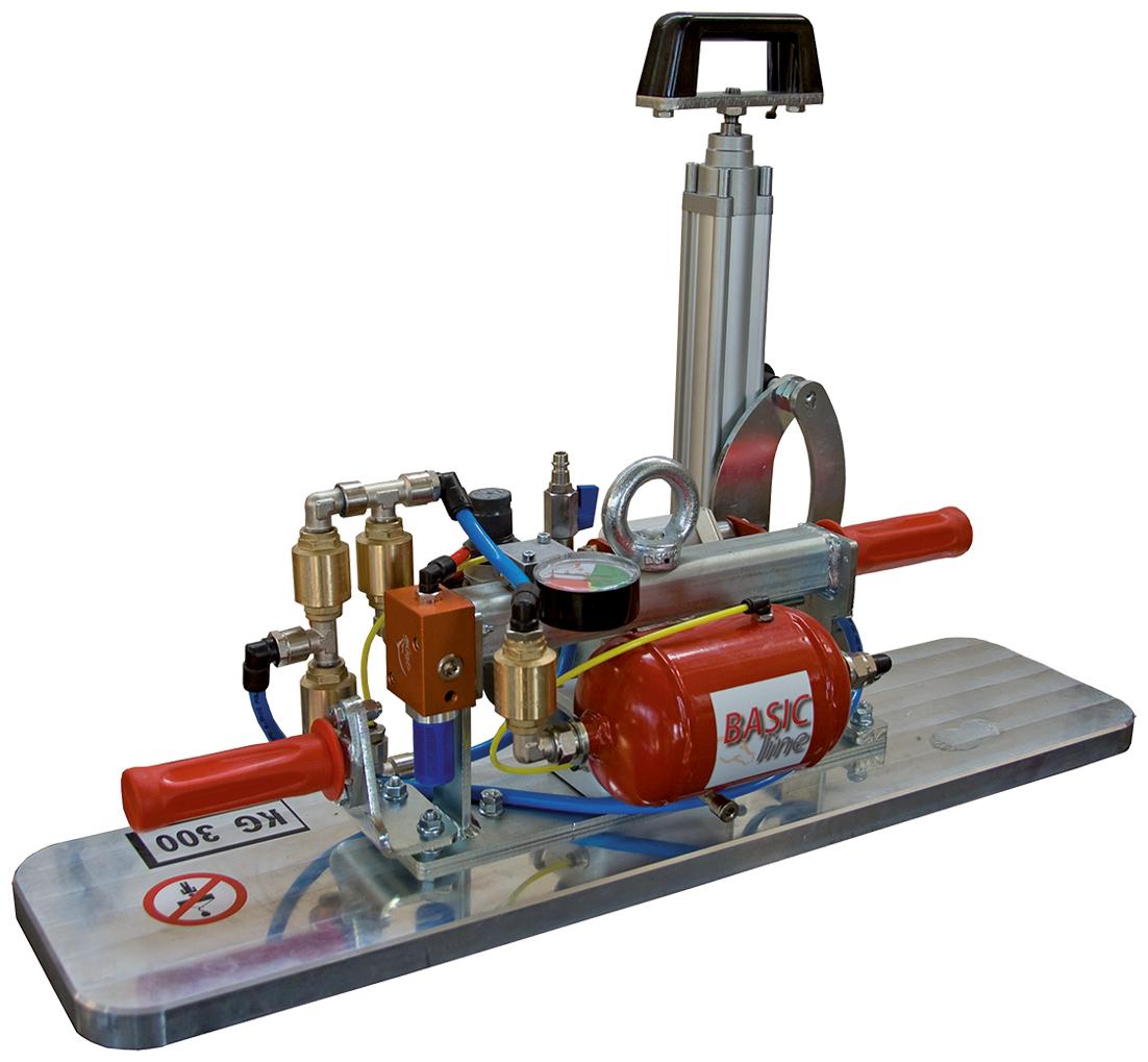 Manzelli Vakuumheber Basic VAM1HP/300 mit Handpumpe