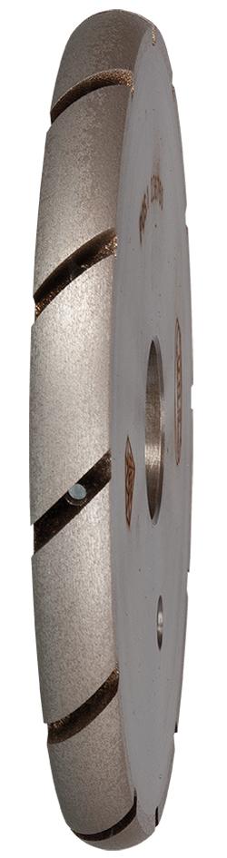 Wasserrillenfräser ø 140 mm | R8 | Korn 1 | Winkelgetriebe