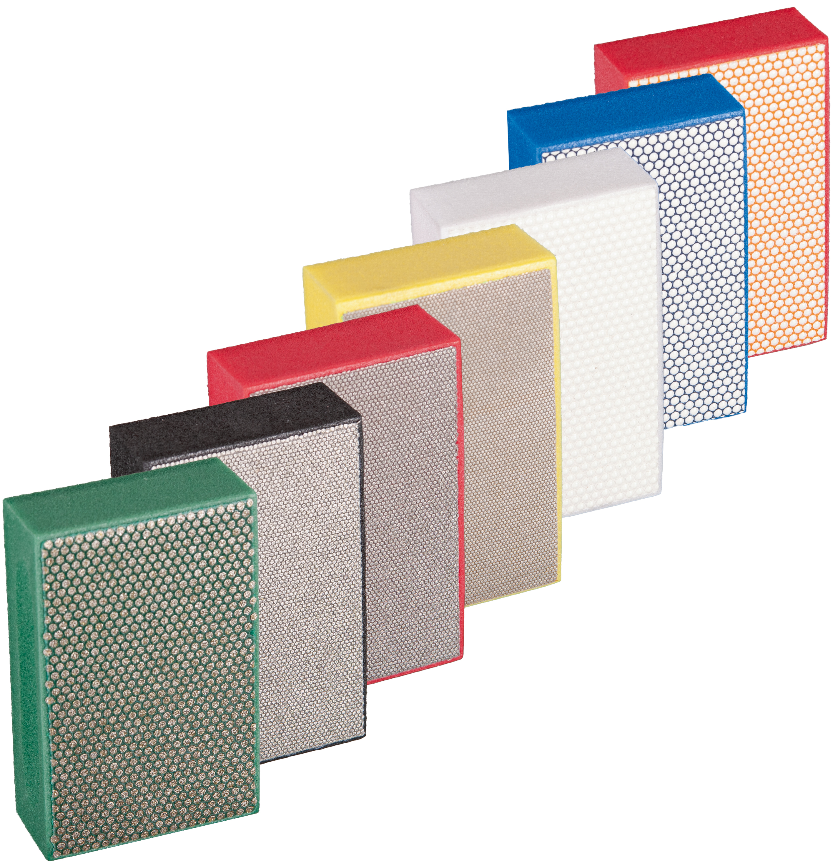 Diamant Handpad 90 x 55 mm | Set