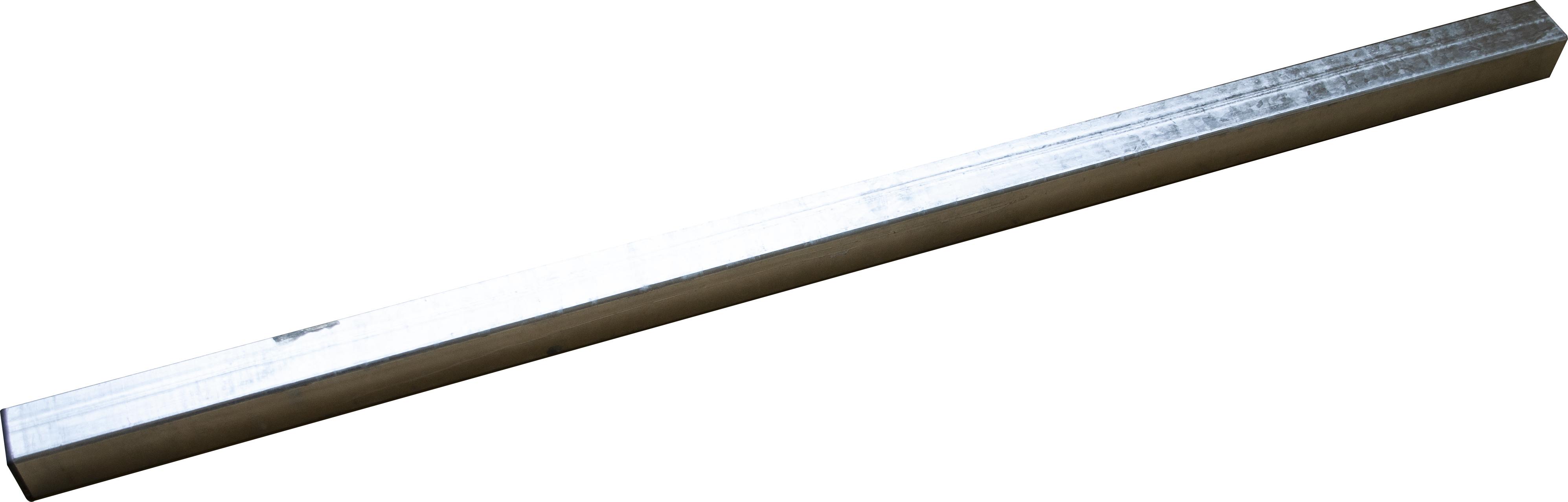 Stütze 60x60mm Länge 1,5m für Materialträgergarnituren SOLID und Standard