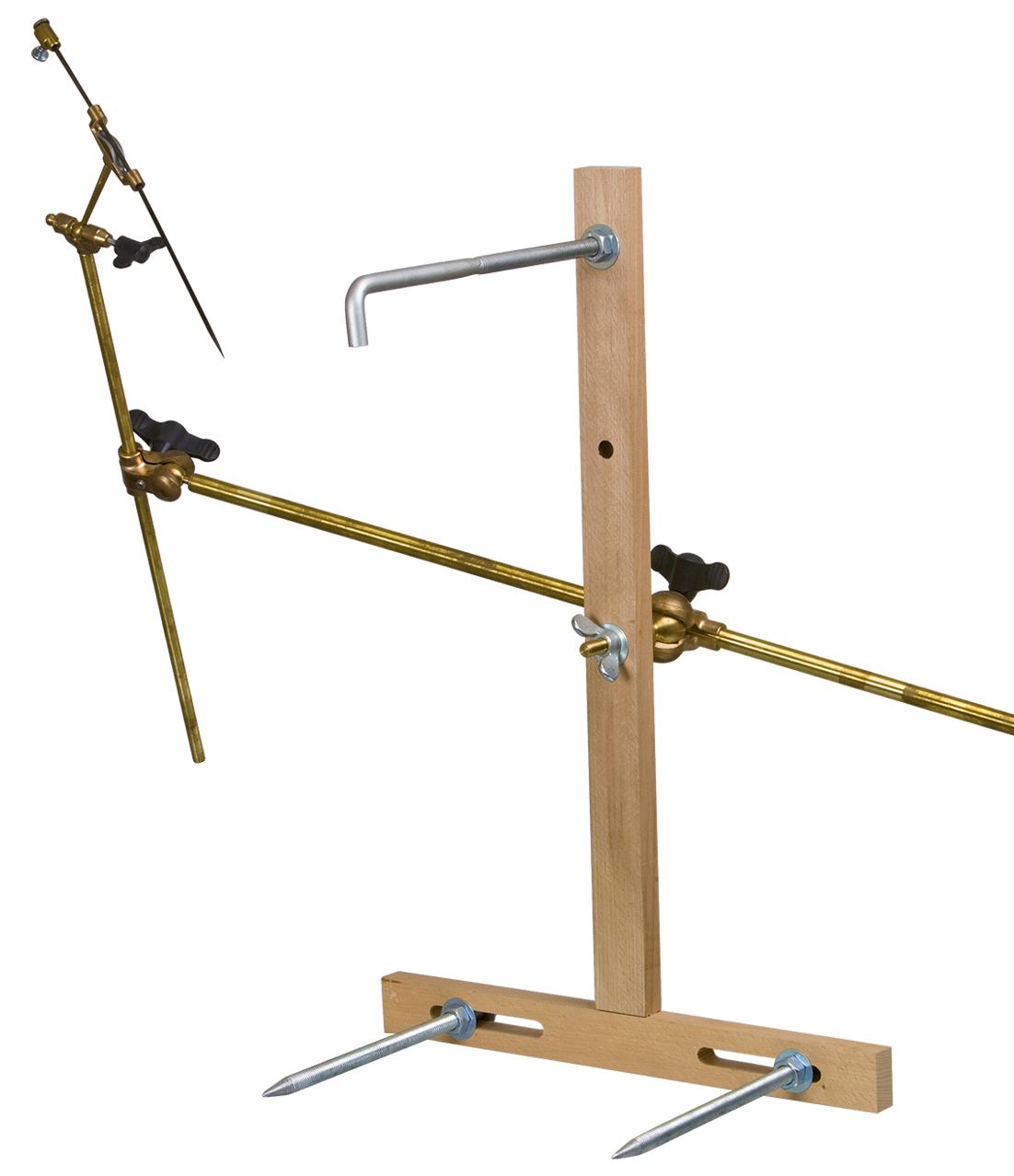 Punktiermaschine Holzkreuz